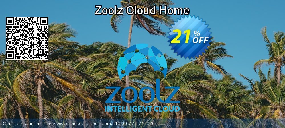 Zoolz Cloud Home coupon on April Fool's Day super sale