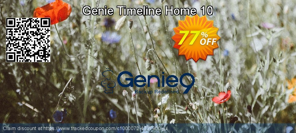 Genie Timeline Home 10 coupon on April Fool's Day offering sales