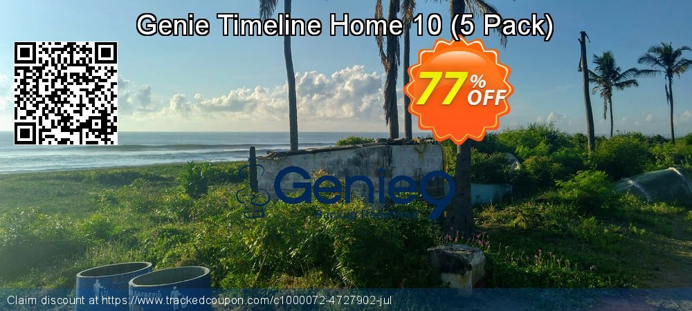Genie Timeline Home 10 - 5 Pack  coupon on Super bowl offering sales