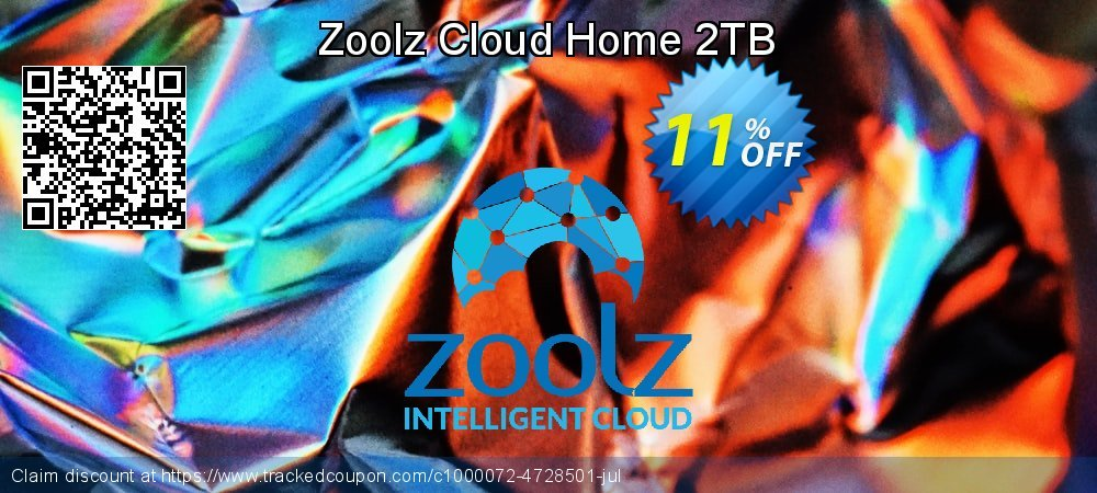 Get 10% OFF Zoolz Home Cloud 2TB (1TB Cold & 1TB Vault) - LIFETIME (Affiliates) offering sales