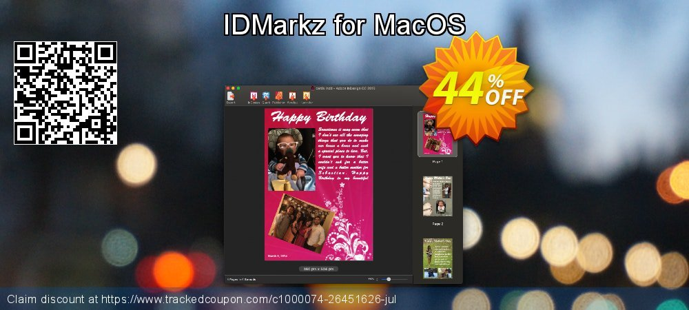 IDMarkz for Mac coupon on July 4th offering discount