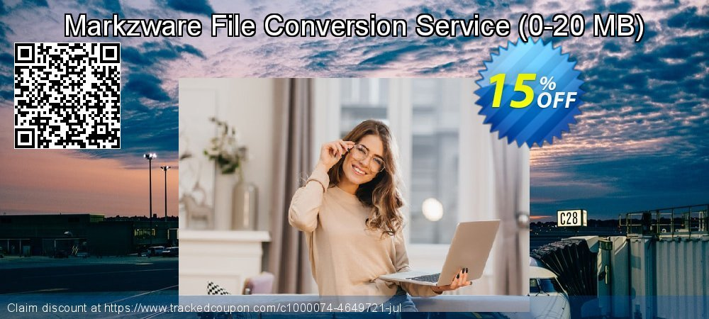 Markzware File Conversion Service - 0-20 MB  coupon on College Student deals discounts