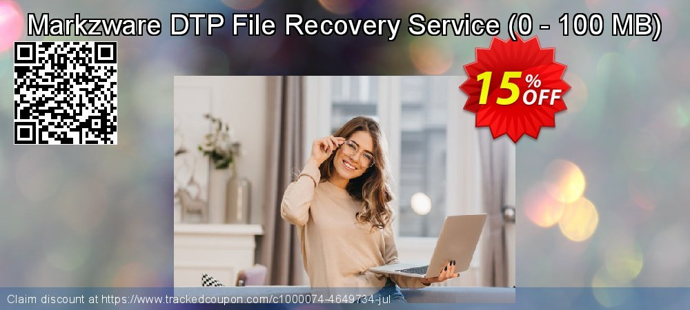 Markzware DTP File Recovery Service - 0 - 100 MB  coupon on Exclusive Teacher discount offer