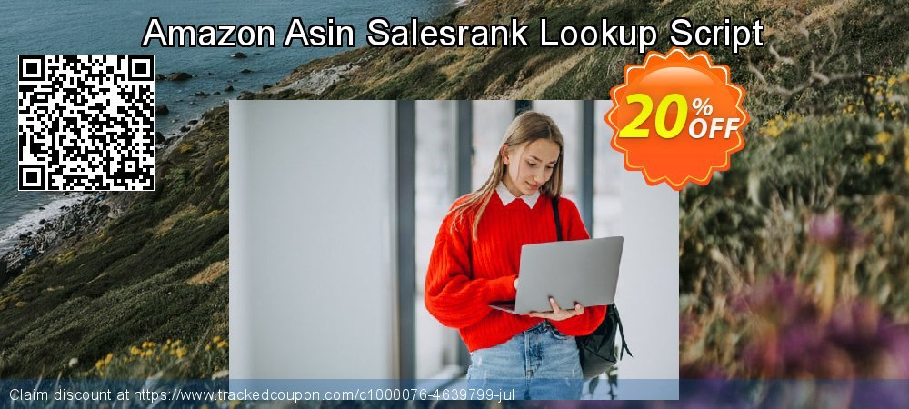 Amazon Asin Salesrank Lookup Script coupon on US Independence Day discount