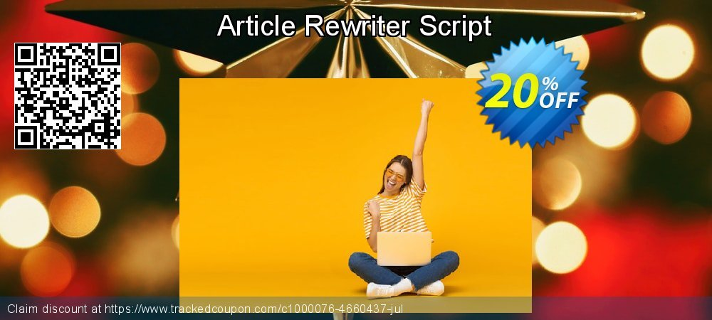 Article Rewriter Script coupon on Easter Sunday deals