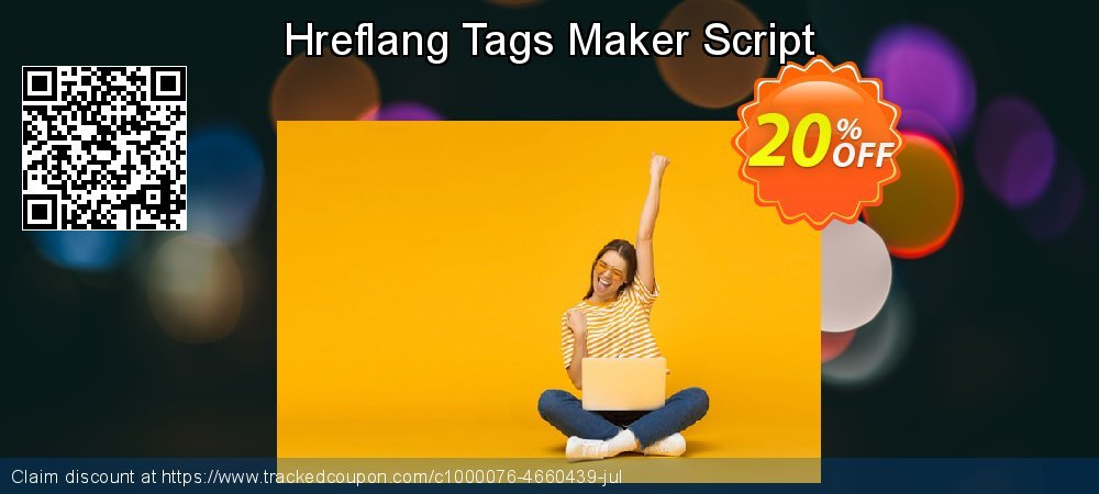 Hreflang Tags Maker Script coupon on Spring discount
