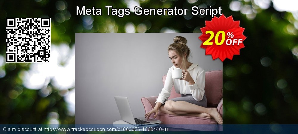 Meta Tags Generator Script coupon on April Fool's Day offering discount