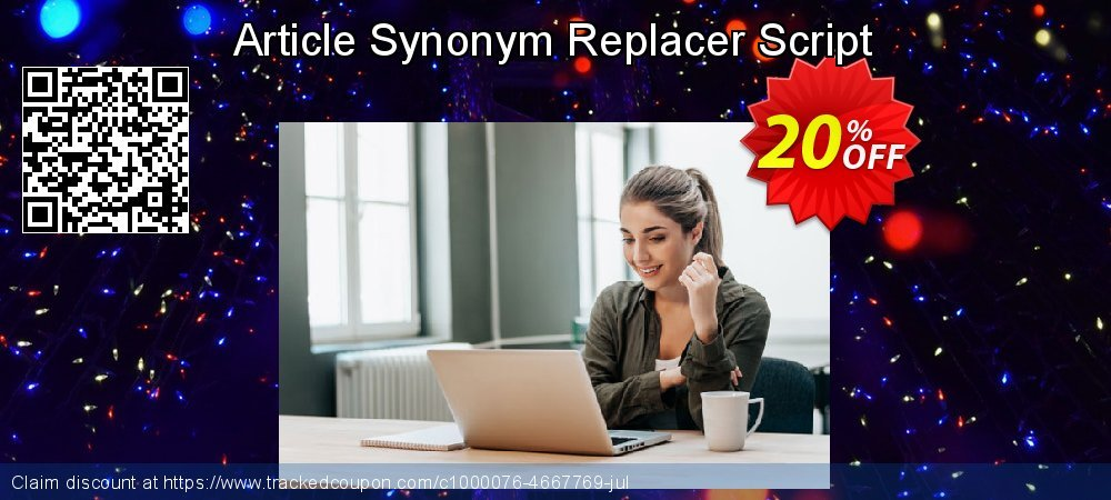 Article Synonym Replacer Script coupon on Easter Sunday discounts