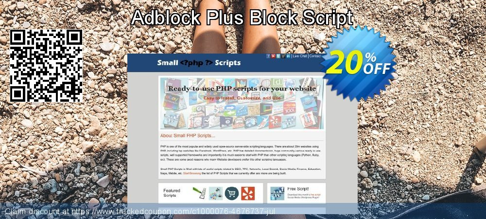 Adblock Plus Block Script coupon on Easter Sunday offer