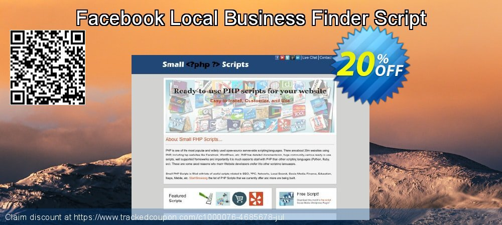 Facebook Local Business Finder Script coupon on Valentine's Day deals