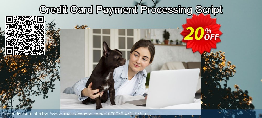 Credit Card Payment Processing Script coupon on Spring promotions