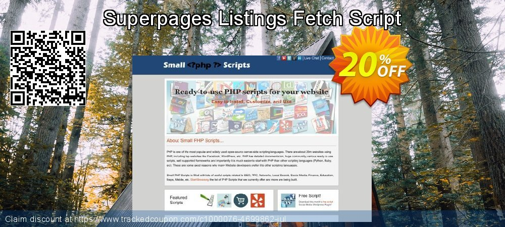 Superpages Listings Fetch Script coupon on Easter super sale