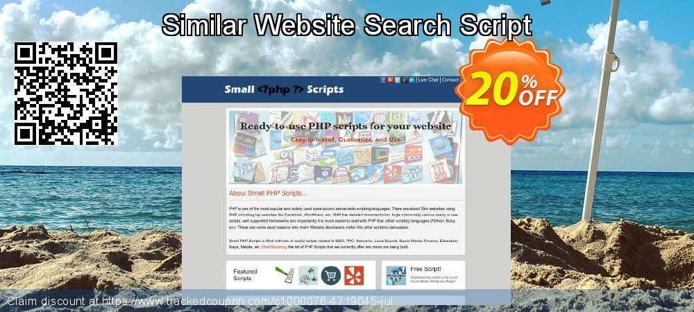 Similar Website Search Script coupon on Easter Sunday deals