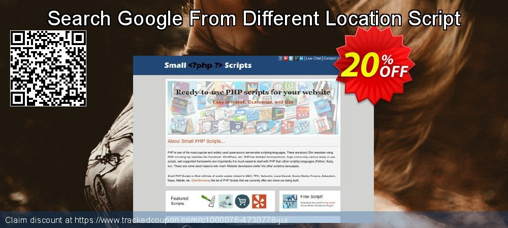 Search Google From Different Location Script coupon on Easter discounts