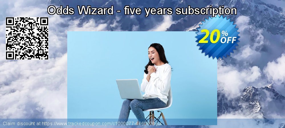 Odds Wizard - five years subscription coupon on Easter sales