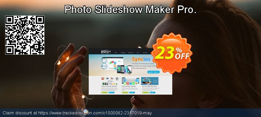 Get 20% OFF Photo Slideshow Maker Pro. offer