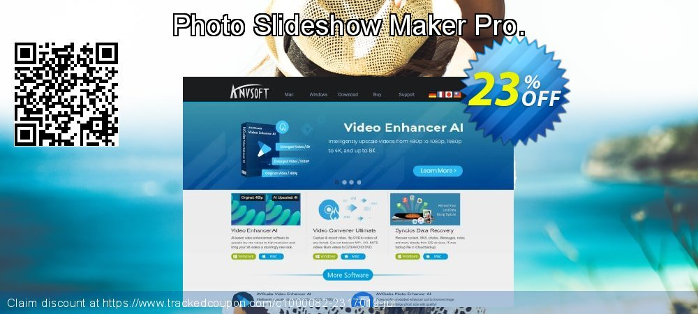 Photo Slideshow Maker Pro. coupon on Black Friday discounts