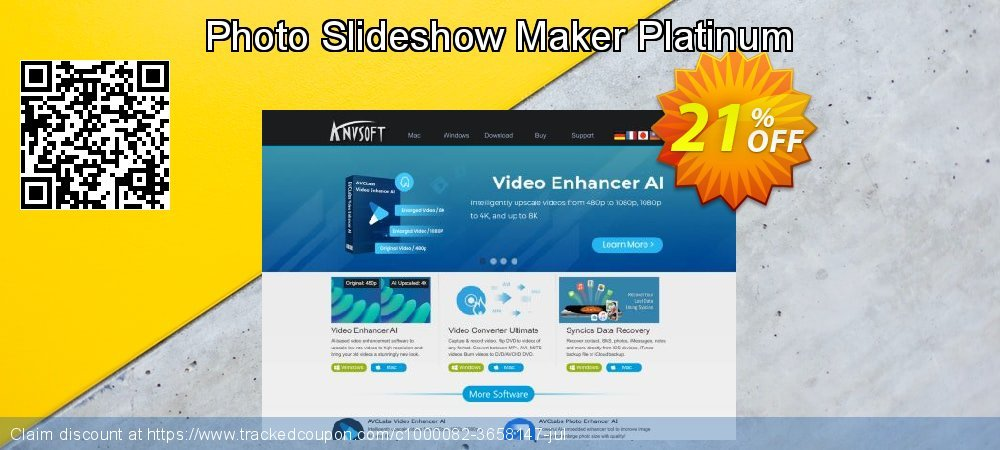 Photo Slideshow Maker Platinum coupon on New Year's Day deals