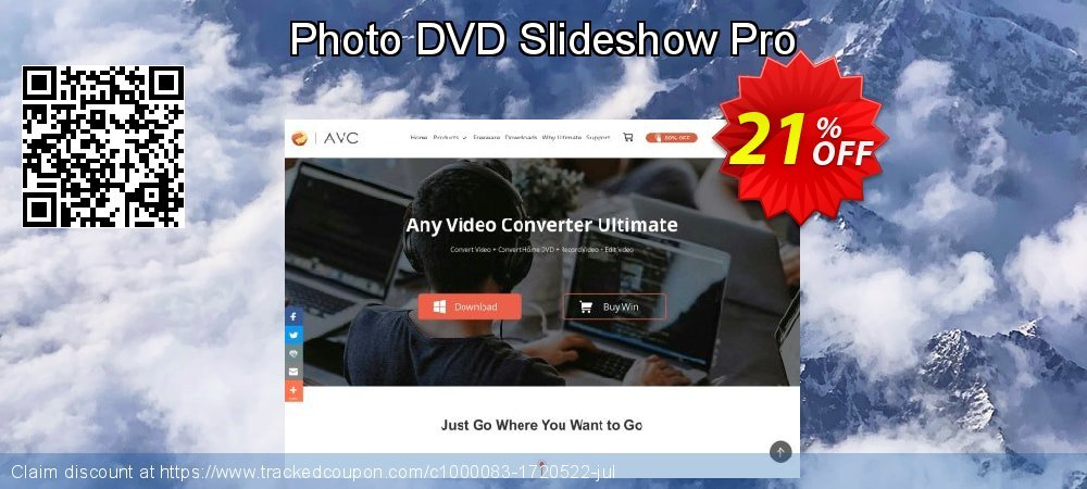 Photo DVD Slideshow Pro coupon on Thanksgiving offering discount
