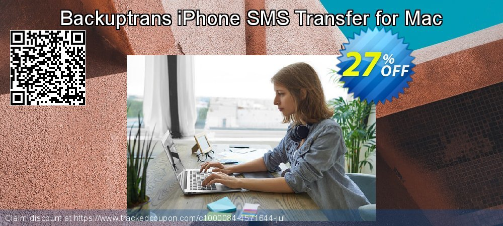 Backuptrans iPhone SMS Transfer for Mac coupon on Thanksgiving promotions