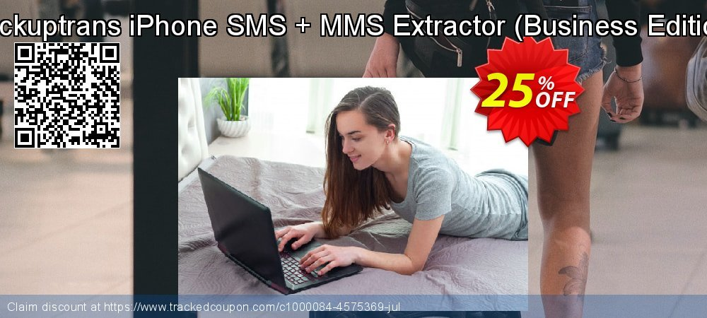 Backuptrans iPhone SMS + MMS Extractor - Business Edition  coupon on Black Friday discounts