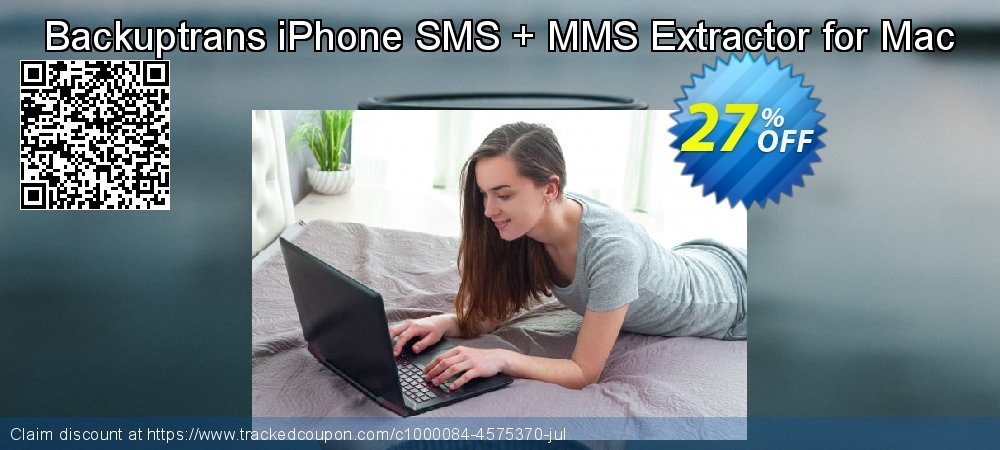 Backuptrans iPhone SMS + MMS Extractor for Mac coupon on Thanksgiving promotions