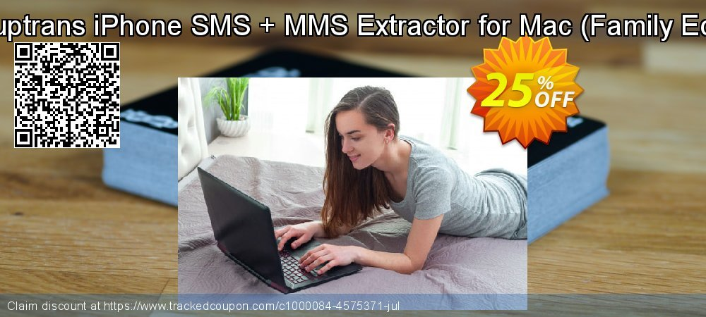 Backuptrans iPhone SMS + MMS Extractor for Mac - Family Edition  coupon on Year-End deals