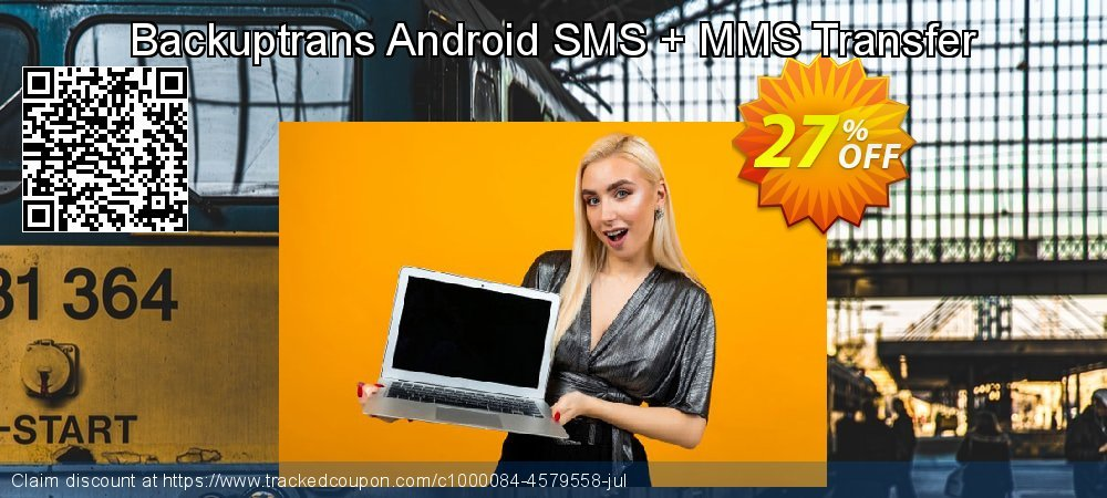 Backuptrans Android SMS + MMS Transfer coupon on Easter offering discount