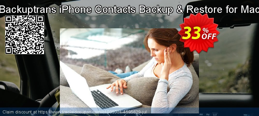 Backuptrans iPhone Contacts Backup & Restore for Mac coupon on College Student deals offering sales