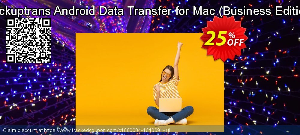 Backuptrans Android Data Transfer for Mac - Business Edition  coupon on X'mas offering sales