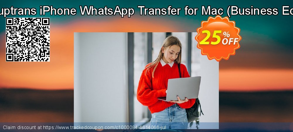 Backuptrans iPhone WhatsApp Transfer for Mac - Business Edition  coupon on Thanksgiving offering discount