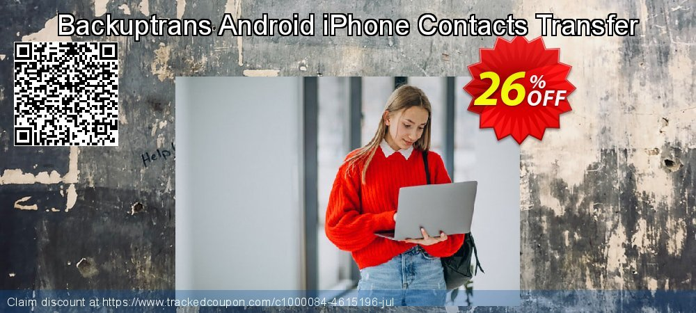 Backuptrans Android iPhone Contacts Transfer coupon on April Fool's Day offer