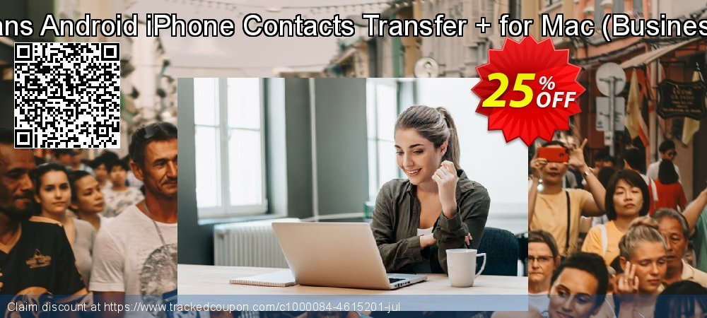 Backuptrans Android iPhone Contacts Transfer + for Mac - Business Edition  coupon on Black Friday offering sales