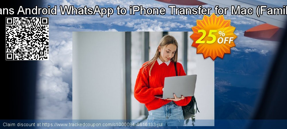 Backuptrans Android WhatsApp to iPhone Transfer for Mac - Family Edition  coupon on Easter Sunday discount