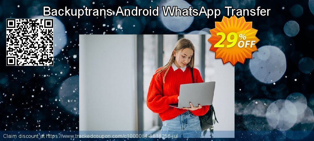 Backuptrans Android WhatsApp Transfer coupon on April Fool's Day offer