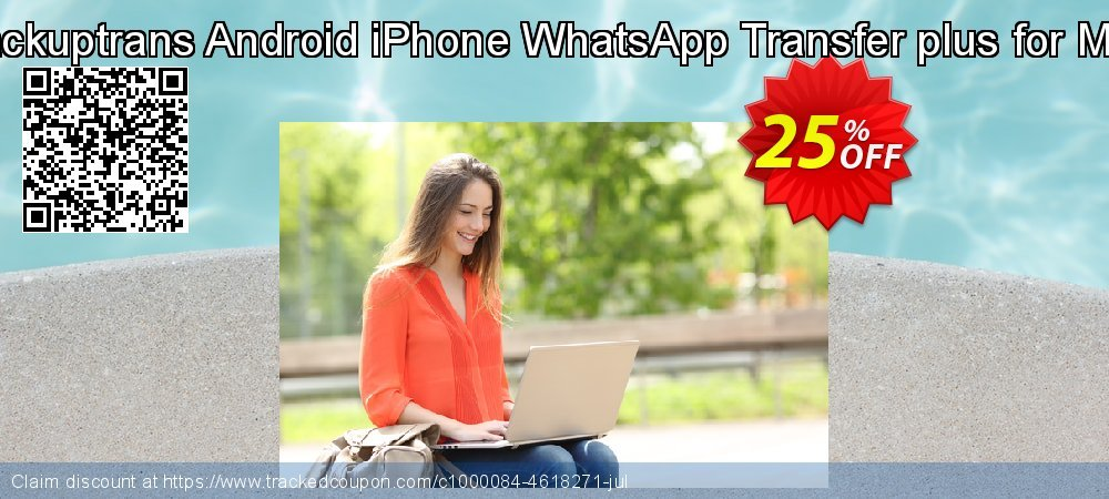 Backuptrans Android iPhone WhatsApp Transfer plus for Mac coupon on University Student deals discount
