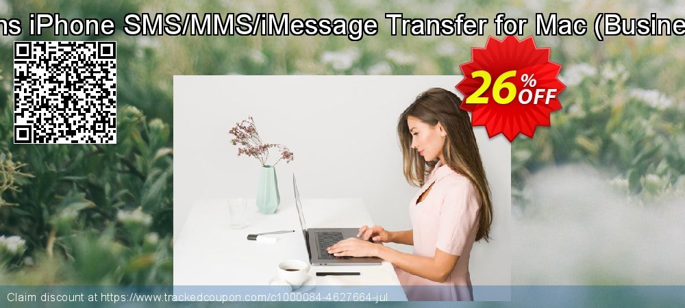 Backuptrans iPhone SMS/MMS/iMessage Transfer for Mac - Business Edition  coupon on Thanksgiving discount