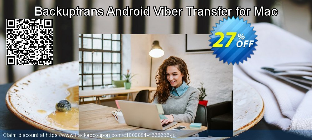 Backuptrans Android Viber Transfer for Mac coupon on Back-to-School event discounts