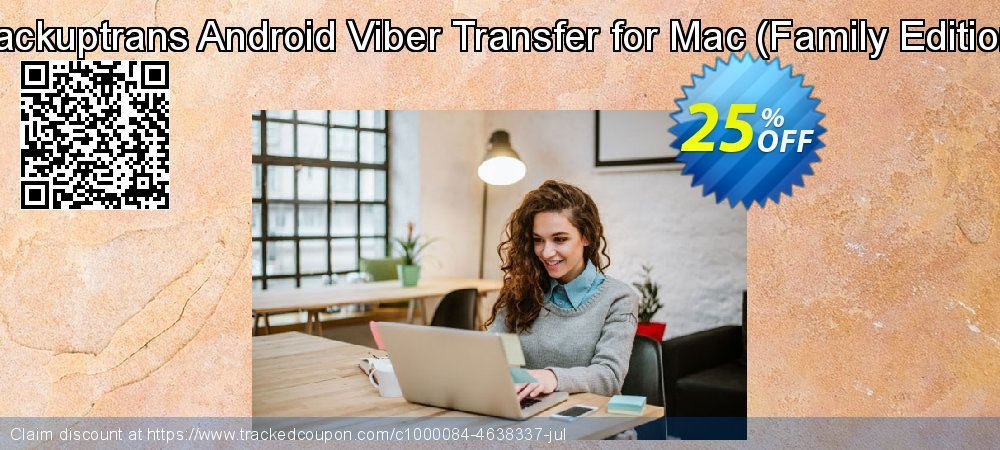 Backuptrans Android Viber Transfer for Mac - Family Edition  coupon on Summer discounts