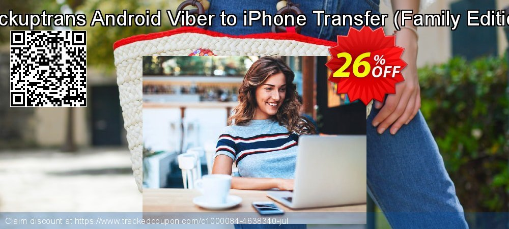 Backuptrans Android Viber to iPhone Transfer - Family Edition  coupon on April Fool's Day discounts