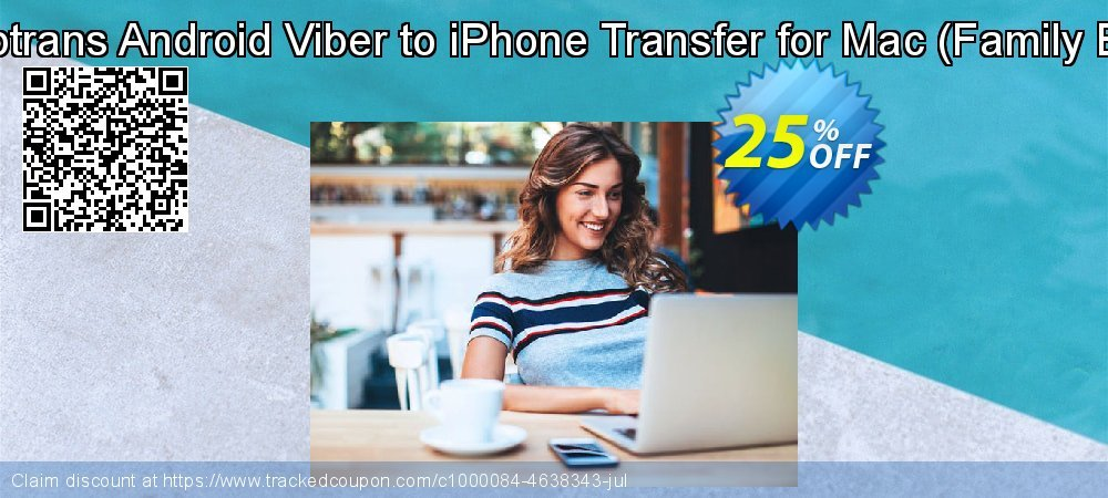 Backuptrans Android Viber to iPhone Transfer for Mac - Family Edition  coupon on Eid al-Adha offering discount