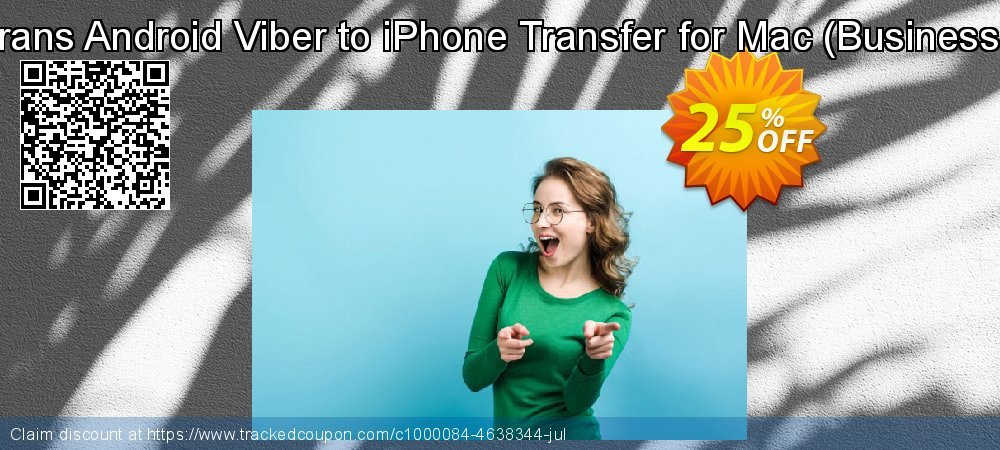 Backuptrans Android Viber to iPhone Transfer for Mac - Business Edition  coupon on Video Game Day offering sales