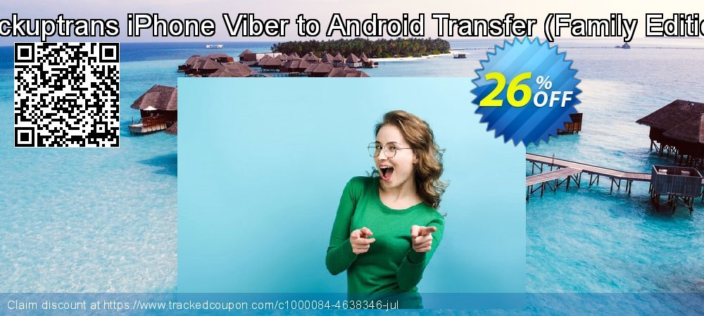 Backuptrans iPhone Viber to Android Transfer - Family Edition  coupon on Easter offering discount