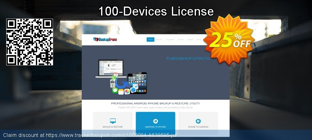 100-Devices License coupon on Black Friday sales