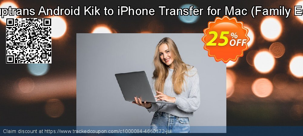 Backuptrans Android Kik to iPhone Transfer for Mac - Family Edition  coupon on April Fool's Day offering sales