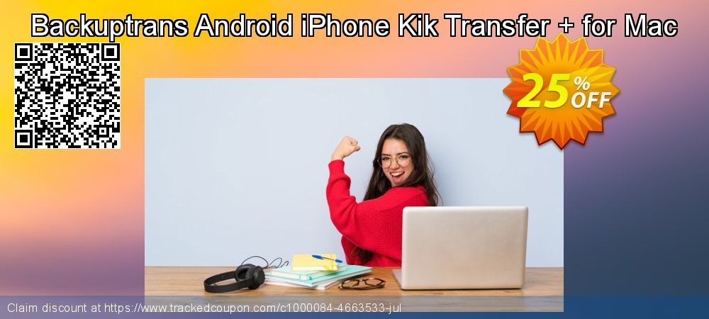 Backuptrans Android iPhone Kik Transfer + for Mac coupon on Easter Sunday sales