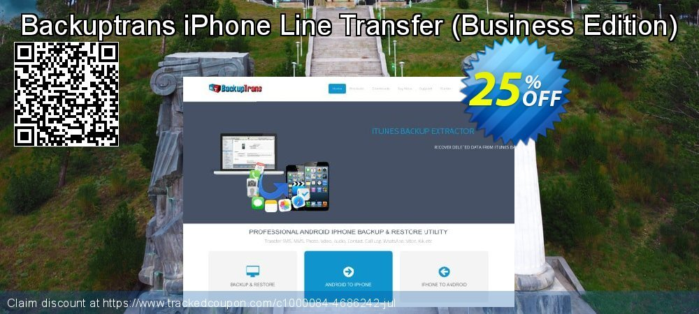 Backuptrans iPhone Line Transfer - Business Edition  coupon on New Year's Day deals