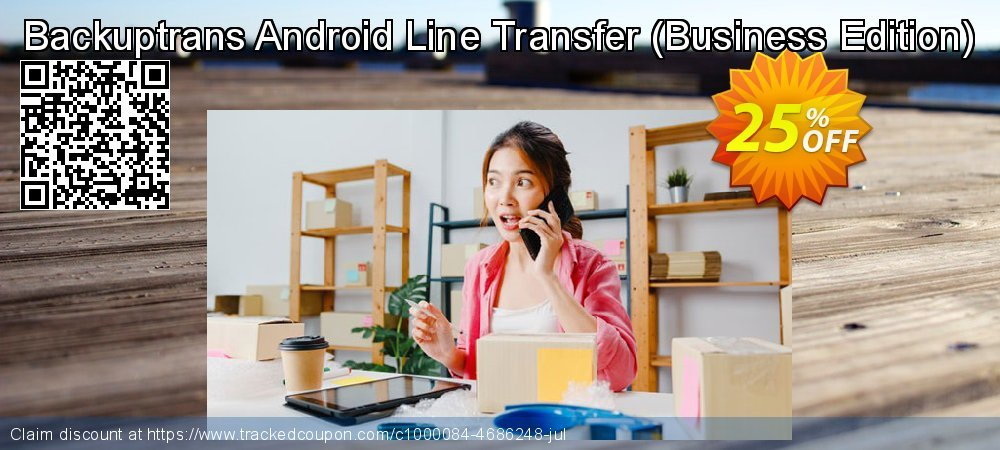 Backuptrans Android Line Transfer - Business Edition  coupon on April Fool's Day promotions