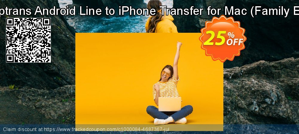 Backuptrans Android Line to iPhone Transfer for Mac - Family Edition  coupon on Spring offer