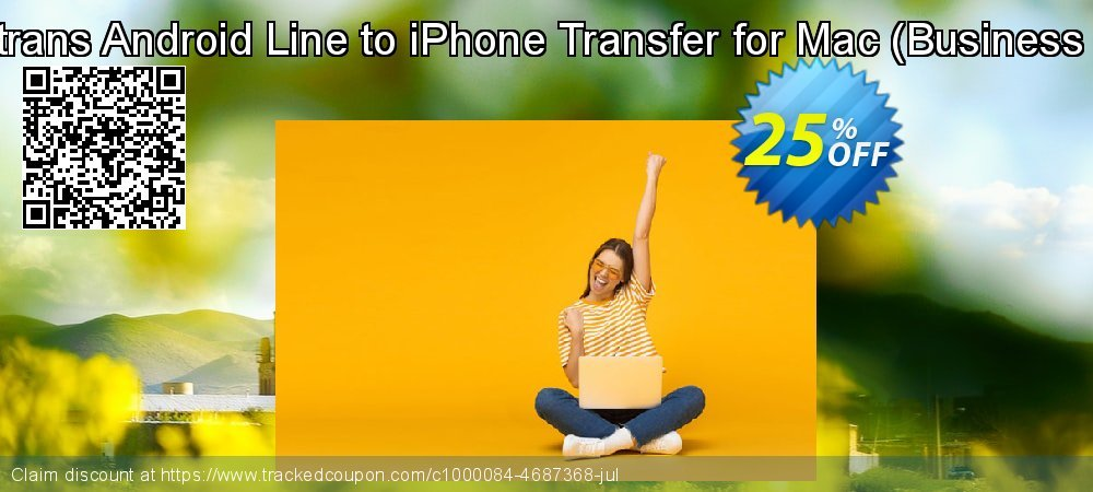 Backuptrans Android Line to iPhone Transfer for Mac - Business Edition  coupon on April Fool's Day discount